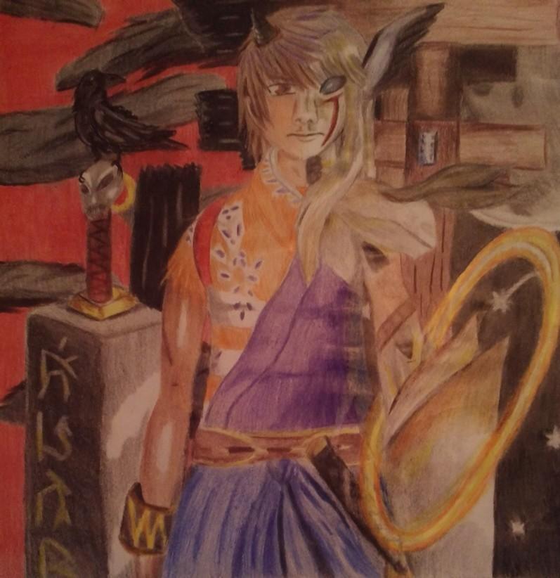 kurando inugami transformation-shadow hearts by Shane-zero