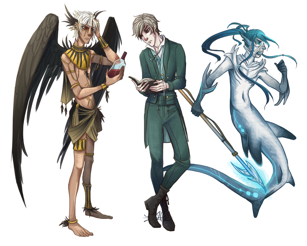 Full Body Examples by PosyPrince
