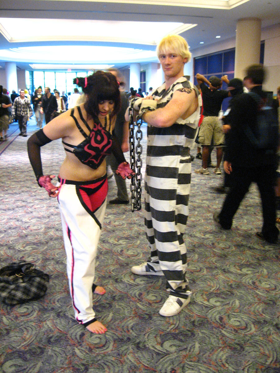 AWA XVI: Juri and Cody by vincent-h-nguyen