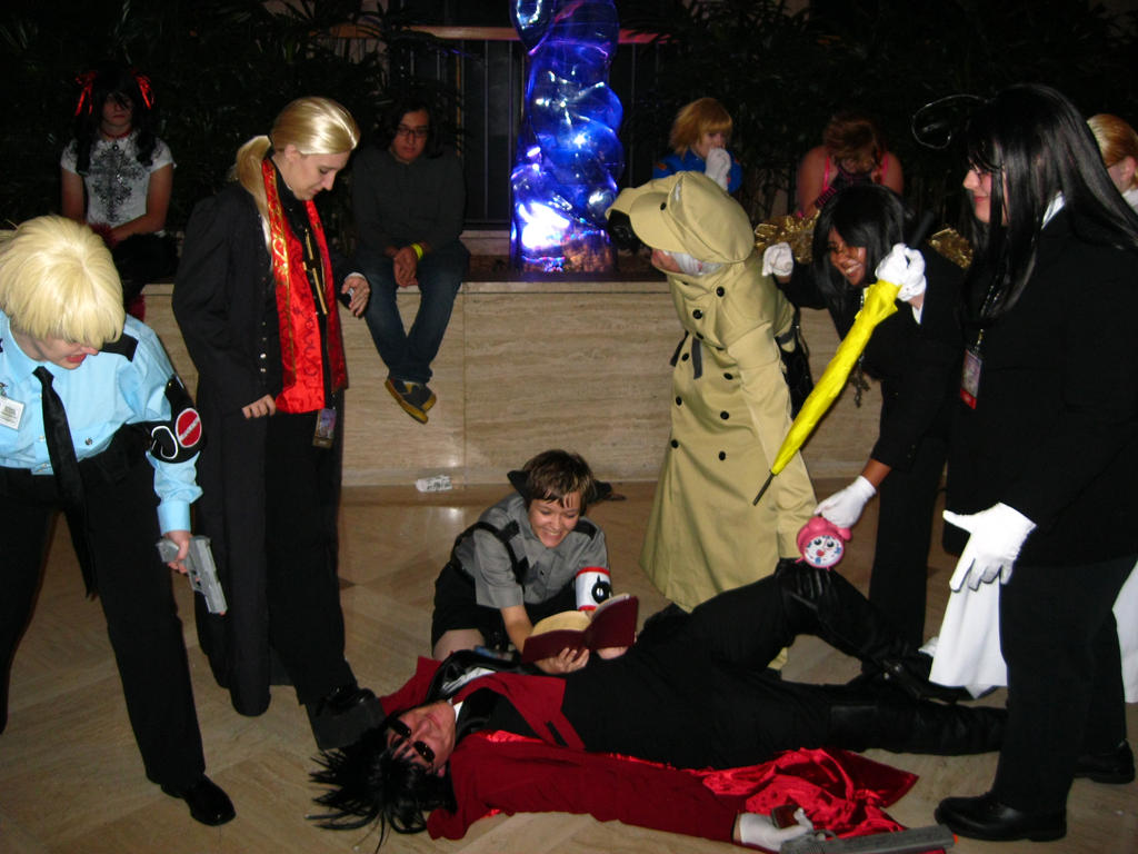 AWA '11 - Hellsing group 2 by vincent-h-nguyen