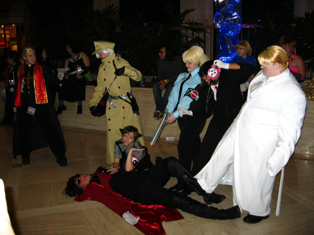 AWA '11 - Hellsing group 4 by vincent-h-nguyen