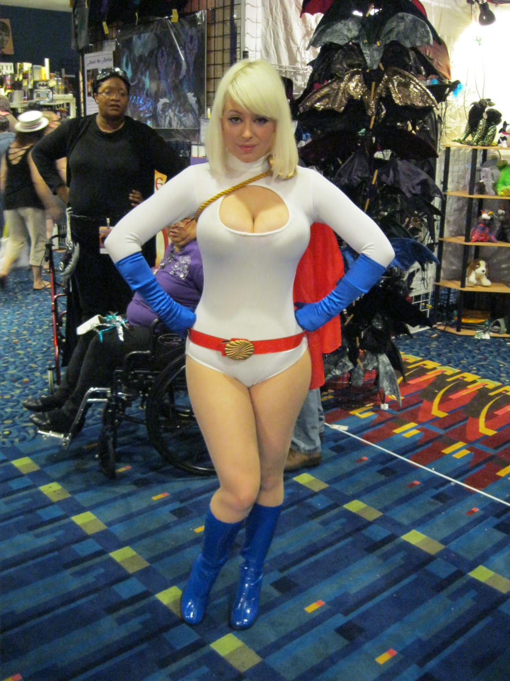DragonCon '12 - Powergirl by vincent-h-nguyen