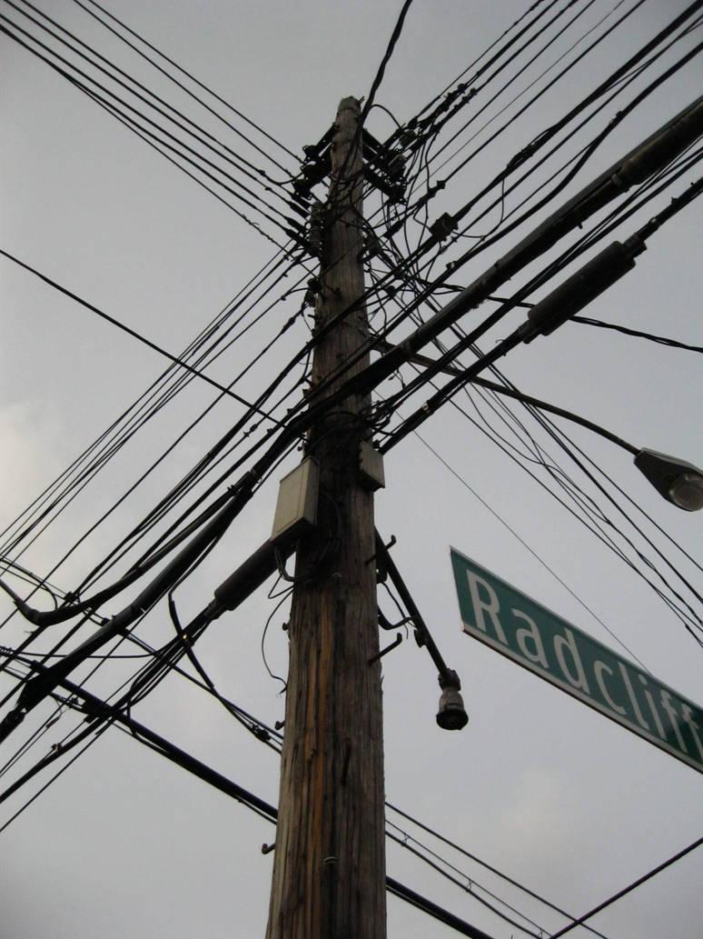 Telephone Pole on Radcliff Ave