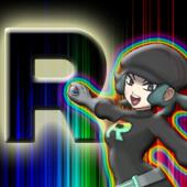 Team Rainbow Rocket Female Grunt Icon by CharizardMen99