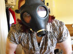 Steampunk gas mask 1
