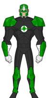 EmeraldNova (Green Lantern + Nova)