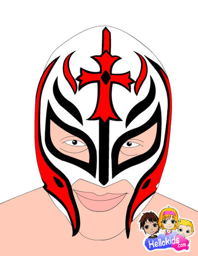 Rey mysterio Mask #1 by 619rankin on DeviantArt