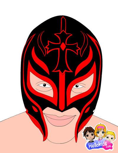 Rey Mysterio Mask #3 by 619rankin on DeviantArt