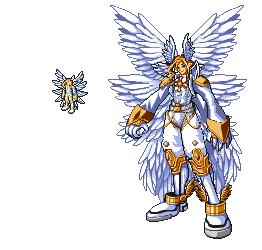 Lucemon Evolutions Lucemon archangel mode...