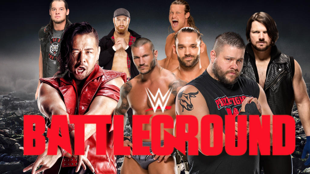 2017 wwe battleground fan poster by 619rankin
