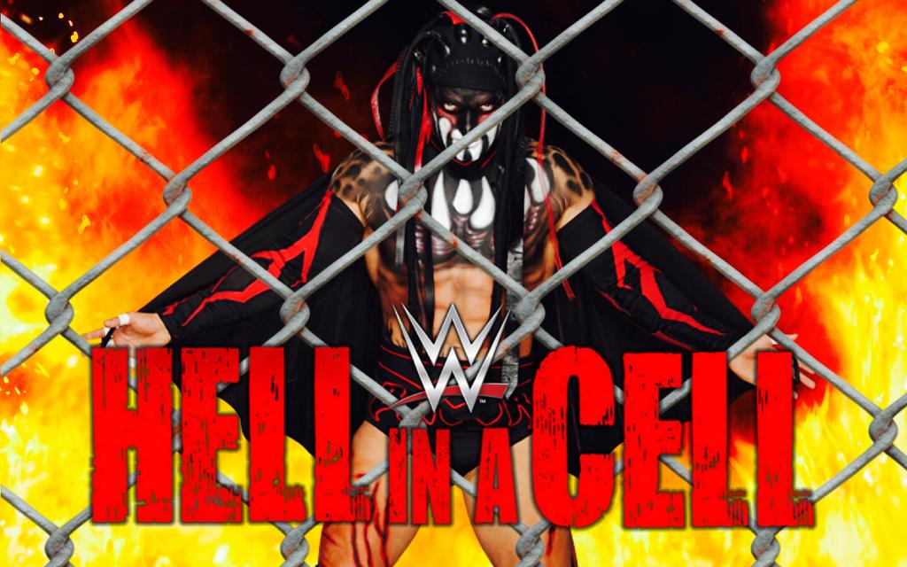 2017 wwe hell in a cell fan poster by 619rankin