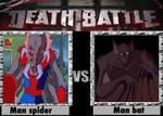 Man spider vs man bat death battle