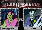 Green goblin vs the joker