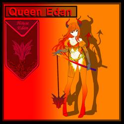 Queen Edan by GlassEyesDesigns