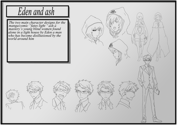 Manga/comic Designs by GlassEyesDesigns