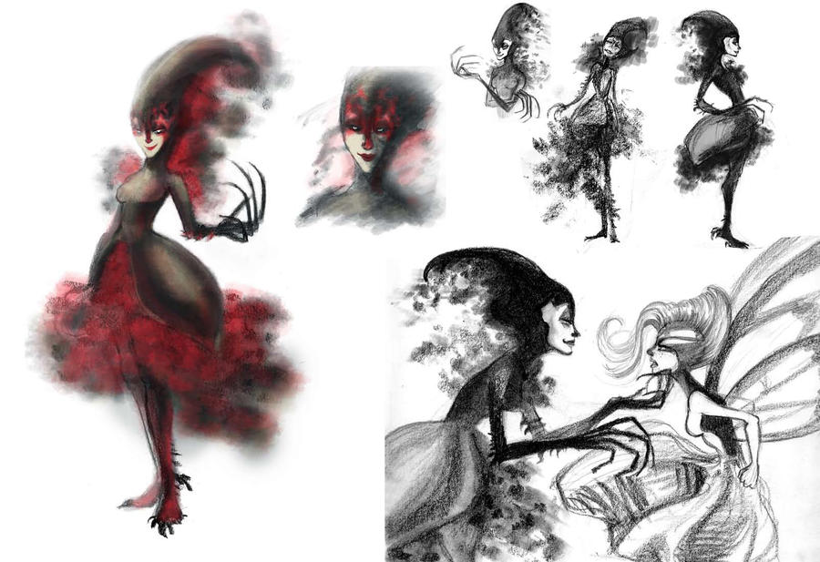 Wicked Fairy Design by Ciaraneri on DeviantArt