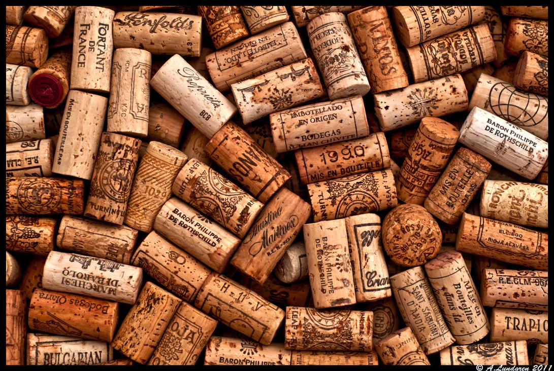 wine corks, by radicalhabits on DeviantArt