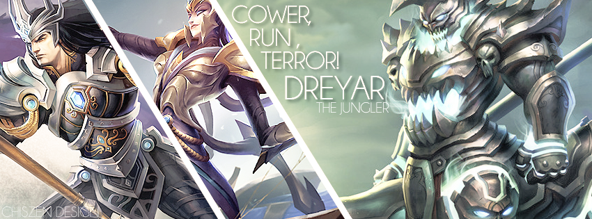 Dreyar - Jungle League of Legends Facebook Cover by