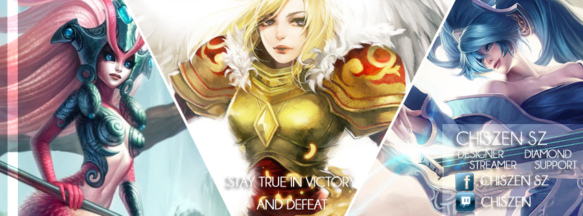 Chiszen - Support League of Legends Facebook Cover by