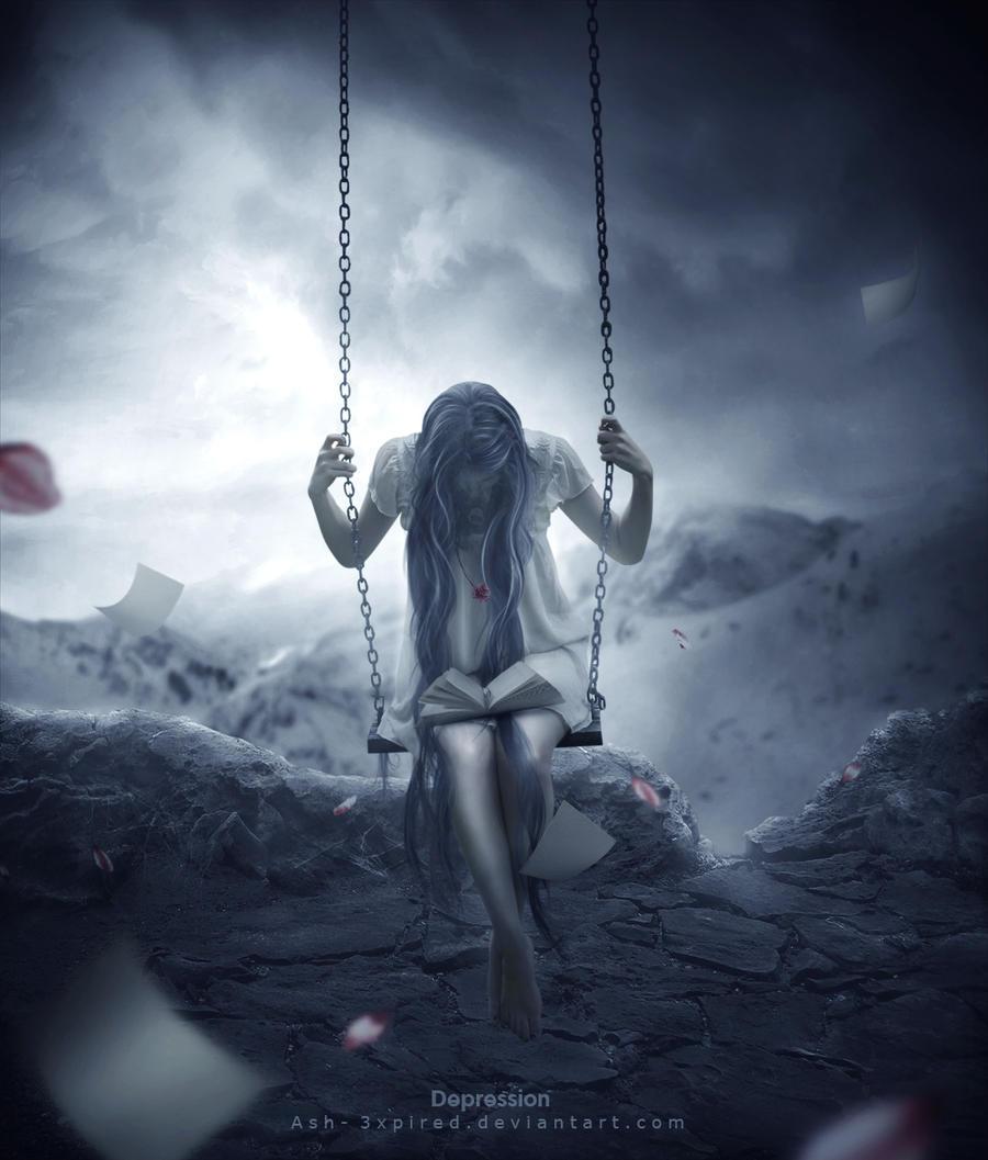 Depression II by Ash-3xpired on DeviantArt