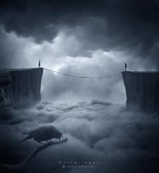 Worlds apart ..