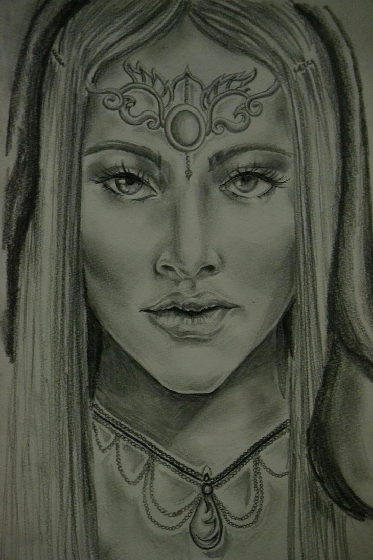 Oracle Priestess by ScathachPhoenixBurnz