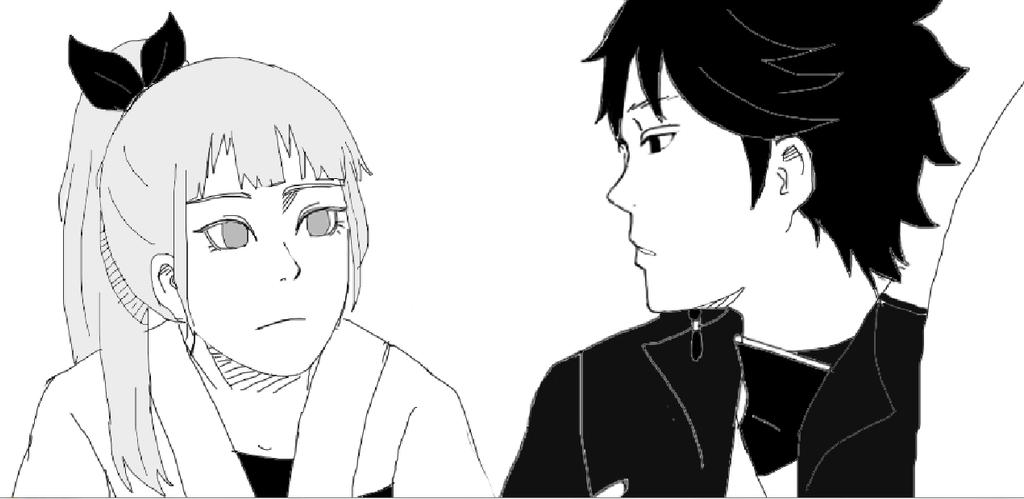 Yia and Tenzo by IzukiYia