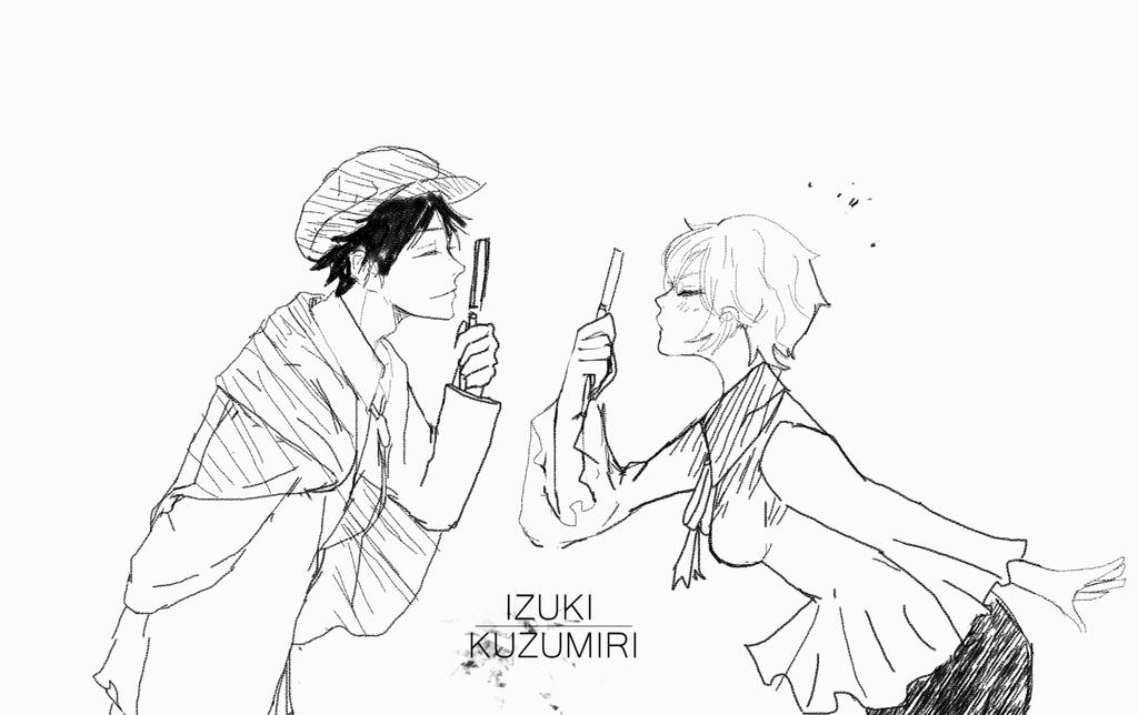 [C]Rampo X Frances by IzukiYia