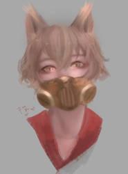 Fan Art Fox Boy by IzukiYia