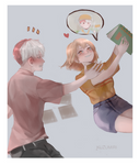 [C]Todoroki and Kaon by IzukiYia