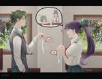 [C]Hebimaru and Saeko by IzukiYia
