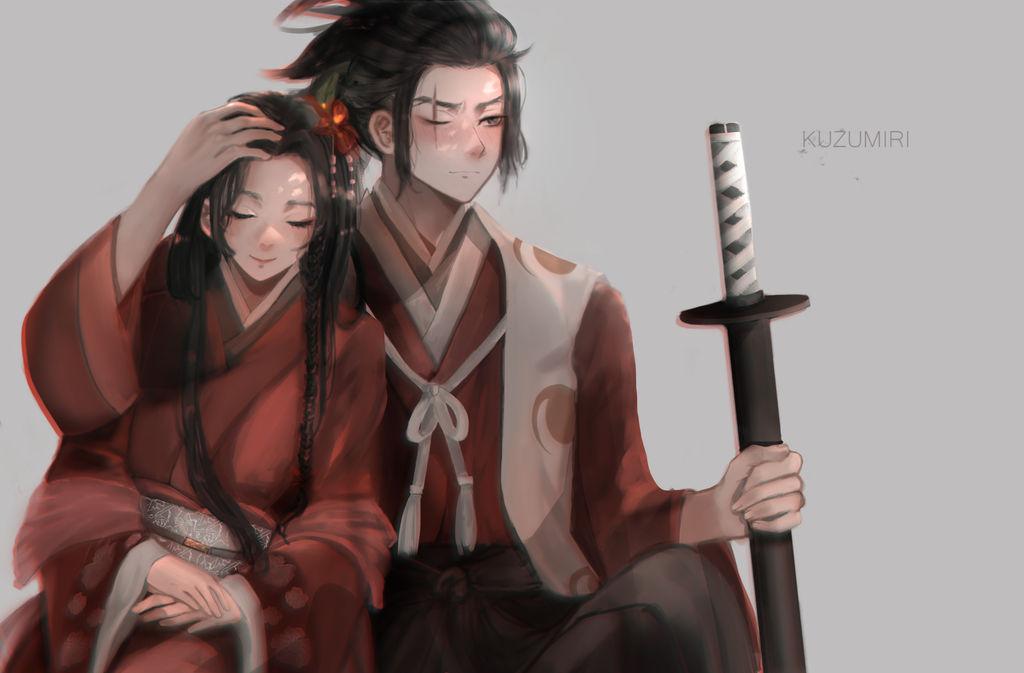 [C] Natsumi and Tahomaru by IzukiYia