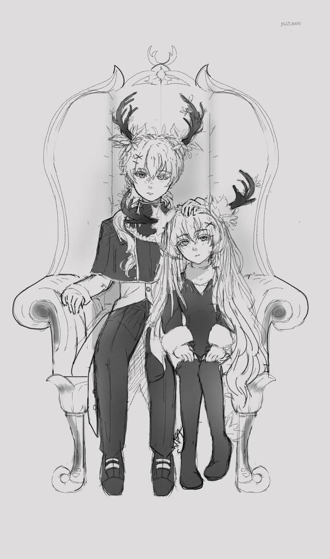 [C]Asviel and Ilya by IzukiYia
