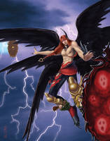 Hell's Angel by GEIKOUart