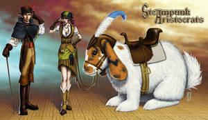Concept: Steampunk Aristocrats by GEIKOUart