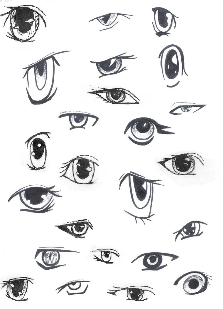 anime eyes by animegirlffx on deviantart