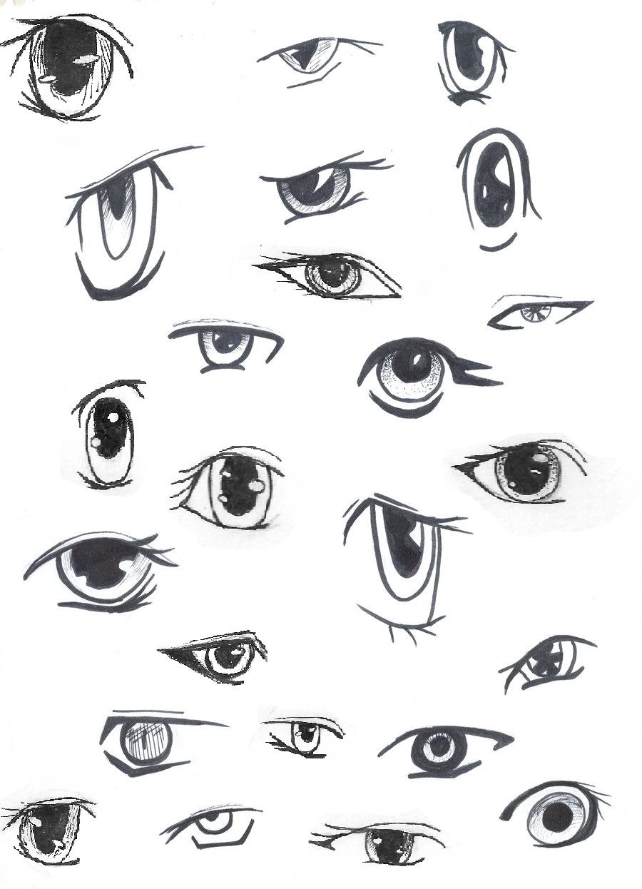 Anime Eyes by animegirlffx