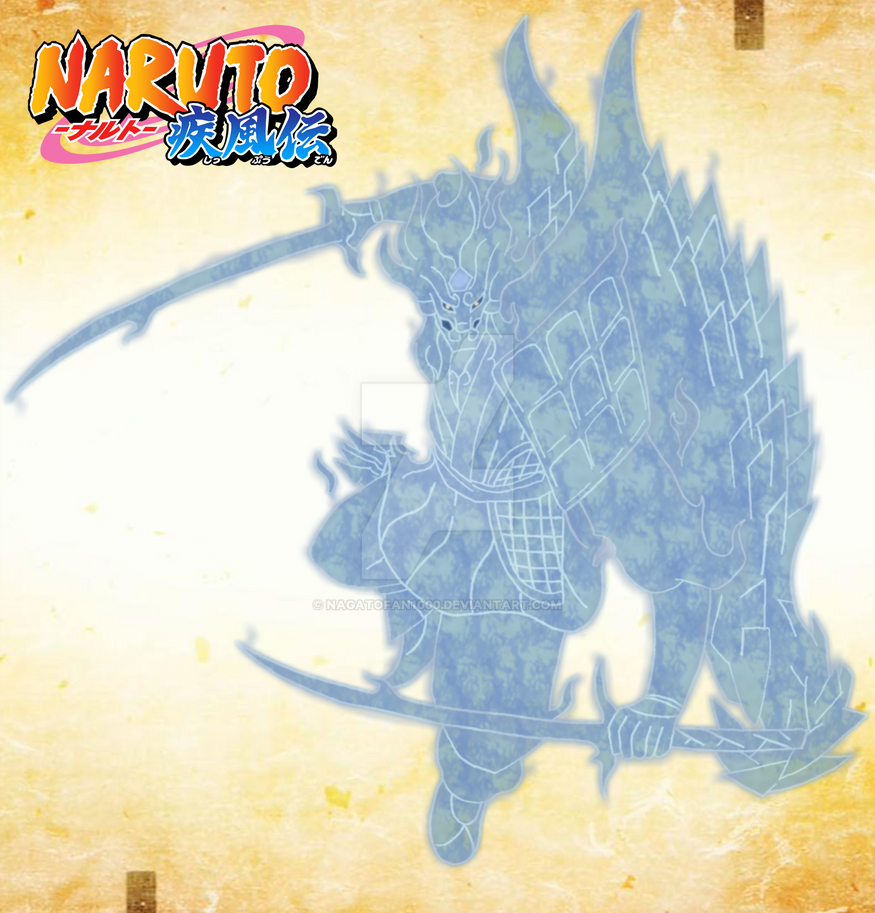 Madara's Perfect Susano'o by nagatofan1000