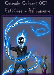 EnCCore Hallowmeme: Ghost Rider Xabi by Saragonvoid
