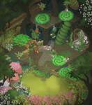 Animal Jam Den Map -- ForestClan