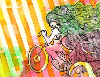 Bici Fan by CaroLevitt