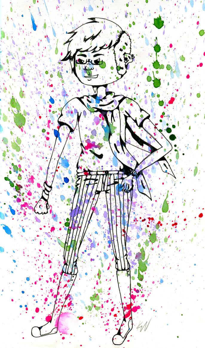splatter babe by maliciouspsycho