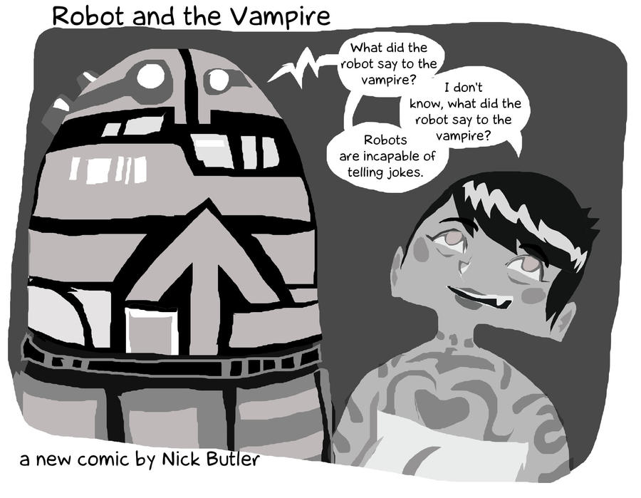 Vampire and Robot Joke