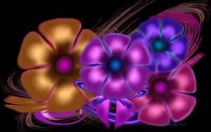 Festive Floral Display