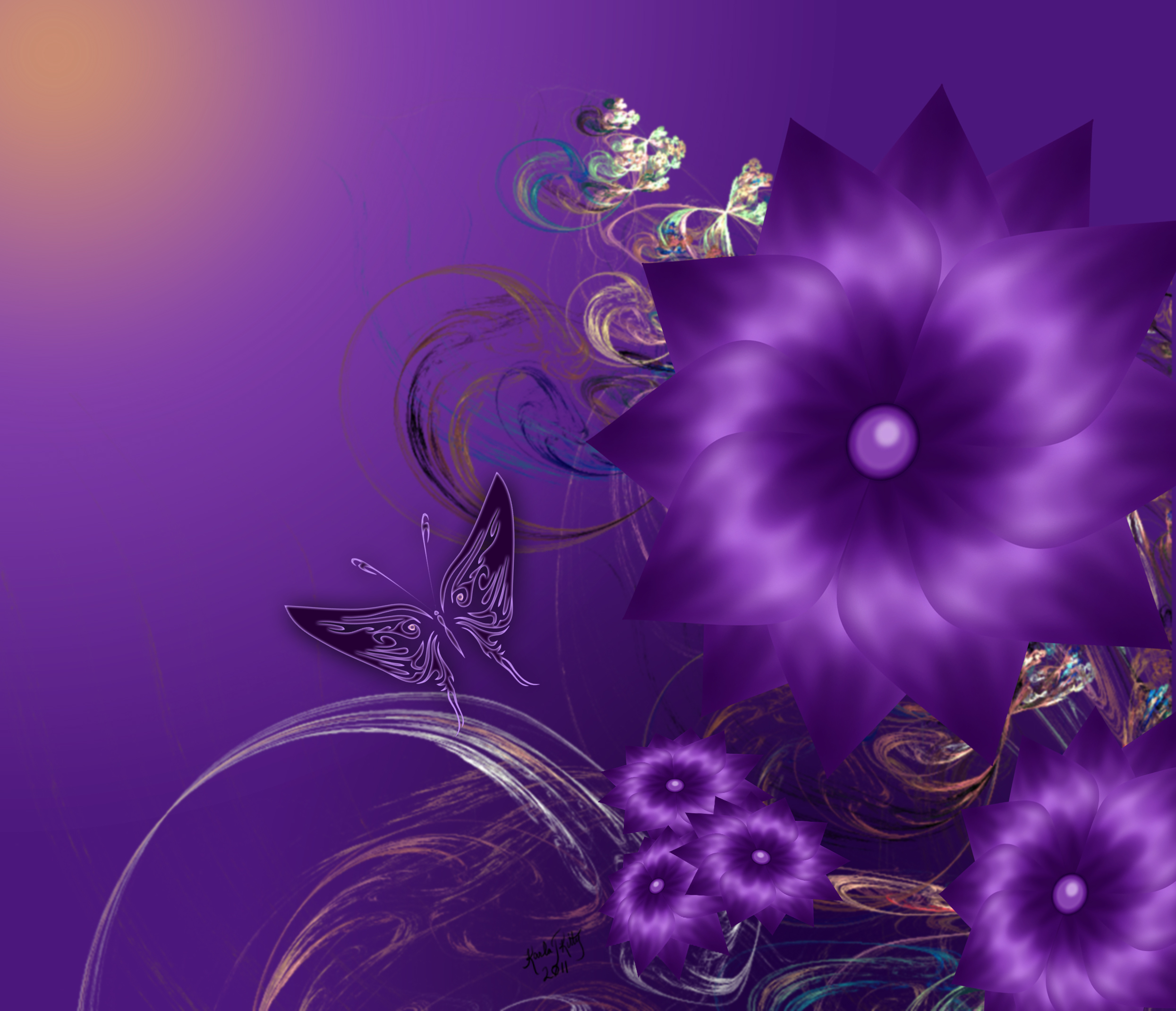 My Purple Day by karlajkitty