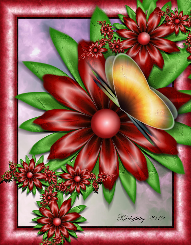 Butterfly's Kiss by karlajkitty