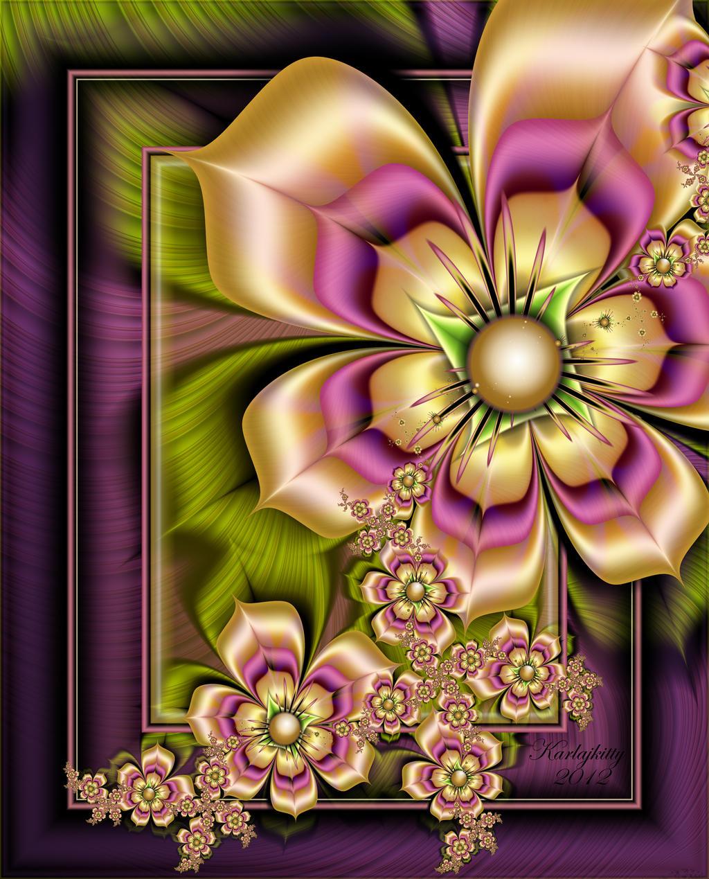 Rainbow Bouquet by karlajkitty