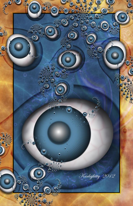 Eye Eyes by karlajkitty