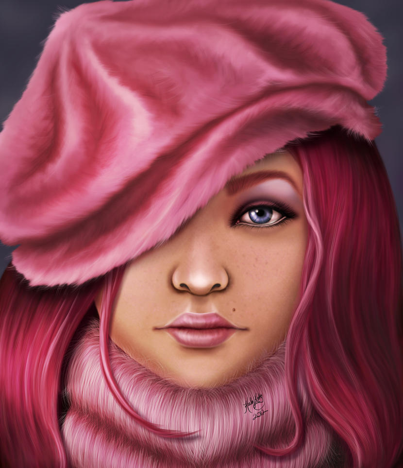 Winter Pink by karlajkitty