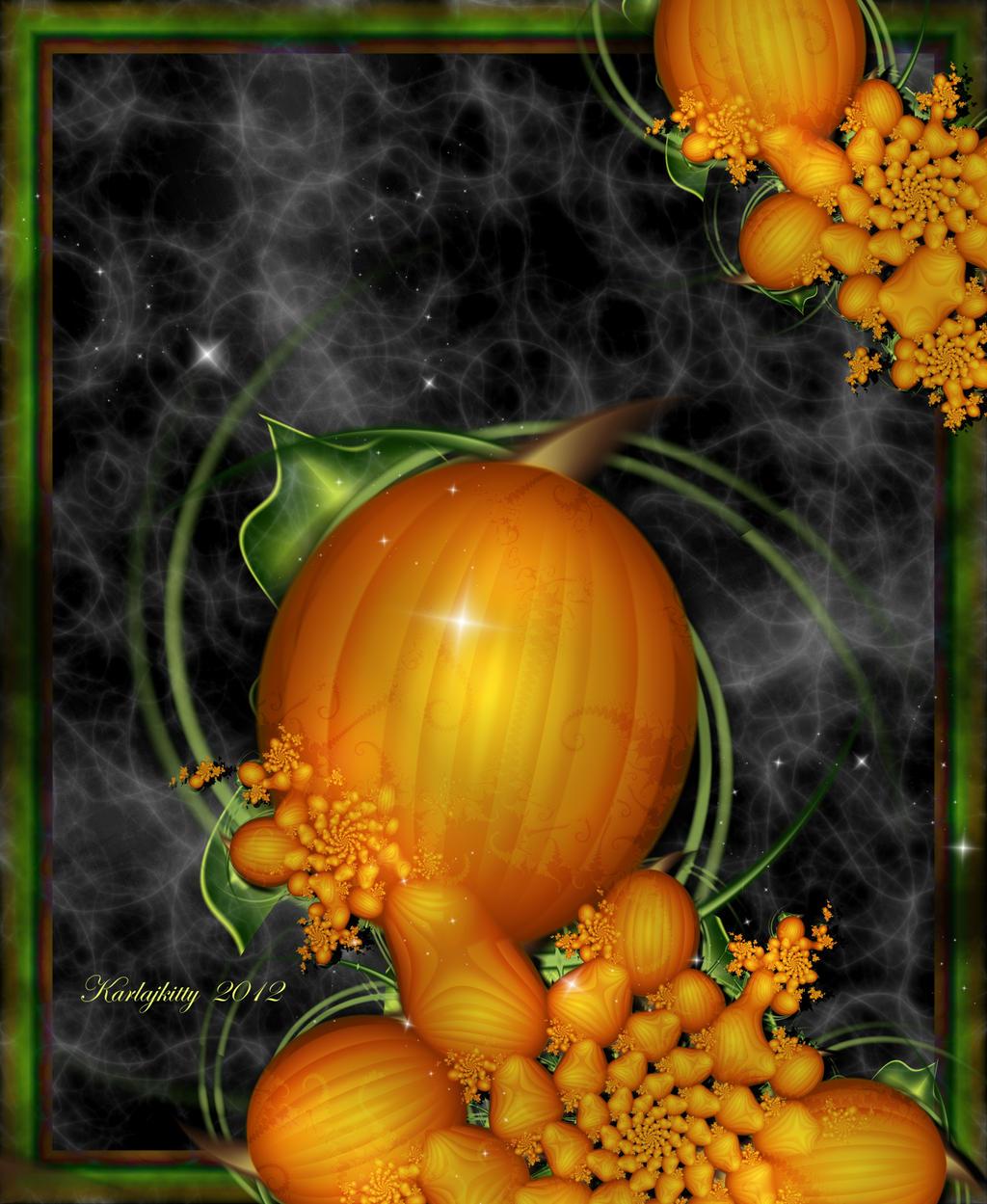 Pumpkin Patch by karlajkitty